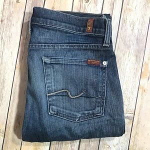 7FAMK 7 For All Mankind Bootcut Size 28